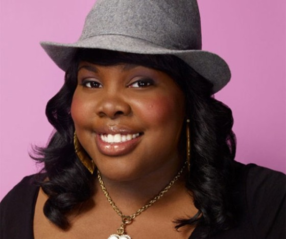 Amber Riley as Mercedes on Glee